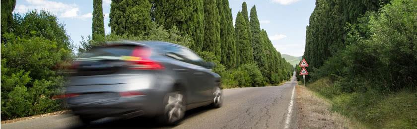 31 km/h bis 40 km/h zu schnell gefahren