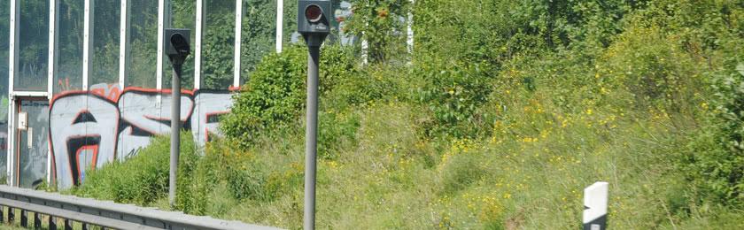 Darf man gegen die Fahrtrichtung blitzen?