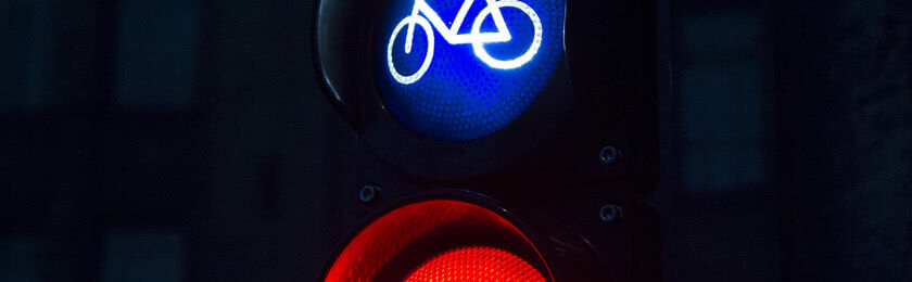 Was passiert, wenn man mit dem Fahrrad über Rotfährt?
