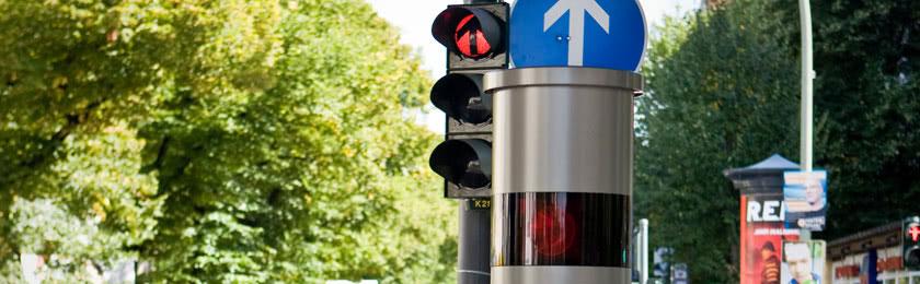 Was kostet es, bei Rot über die Ampel zu fahren?