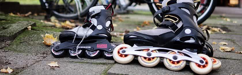 Inliner oder Skateboard im Straßenverkehr 1