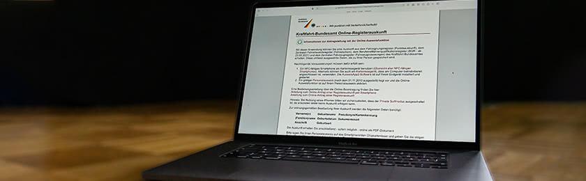 Kann ich meine Punkte in Flensburg auch online abfragen? 1