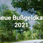 Neuer Bußgeldkatalog 2021: Jetzt wird's teuer!