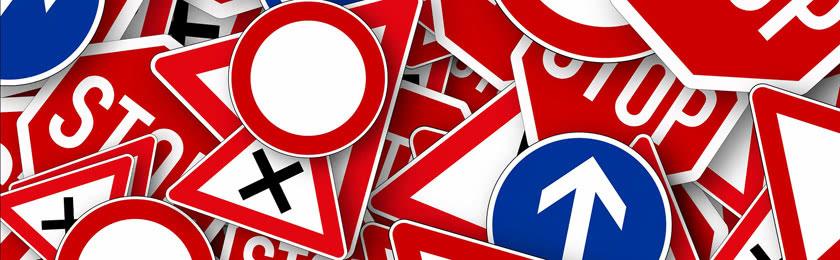 Verkehrszeichen &Verkehrsregeln nach der StVO-Novelle