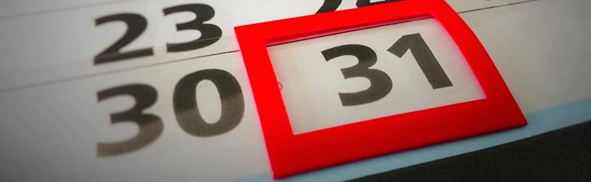Was passiert, wenn die 14 Tage Einspruchsfrist auf ein Wochenende oder Feiertag fällt?